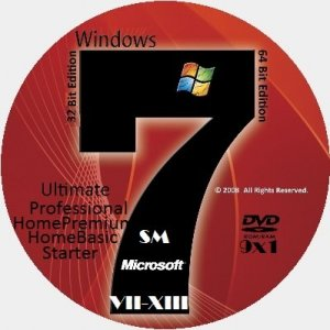 Microsoft Windows 7 SP1 x86-x64 RU SM VII-XIII COLLECTION (9 in 1) by Lopatkin (2013) Русский