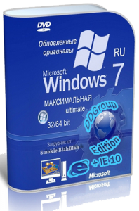 Windows 7 Ultimate SP1 (x86-x64) DDGroup™ Edition [v.18.07] Русский