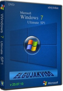windows 7 Ultimate SP1 Elgujakviso Edition (x64) [v23.07.13] Русский