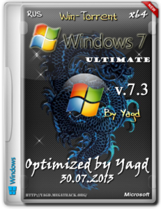 Windows 7 Ultimate (x64) Full Optimized by Yagd v.7.3 [30.07.2013] Русский