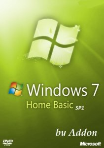 Windows 7 Home Basic SP1 by Addon (x64) [2013] Русский