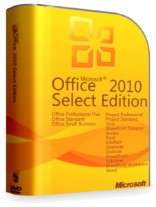 Microsoft Office 2010 Select Edition 14.0.7015.1000 SP2 by Krokoz (32bit+64bit) (2013) Русский