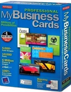 Mojosoft BusinessCards MX 4.87 Portable by Turok (2013) Русский + Английский