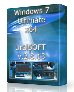 Windows 7 Ultimate UralSOFT v.2.8.13 (x64) [2013] �������