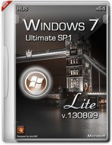 Microsoft Windows 7 Ultimate SP1 x64 RU Lite 130809 by Lopatkin (2013) Русский
