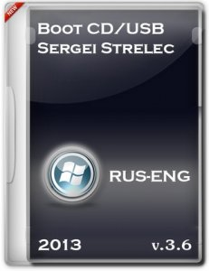 Boot CD/USB Sergei Strelec 2013 v.3.6 (Windows 8 PE) (2013) Русский + Английский