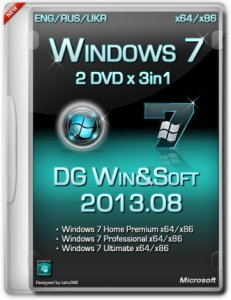 Windows 7 AIO SP1 3in1 IE10 DG Win&Soft (x86-x64) [2013] [Rus,Eng,Ukr]