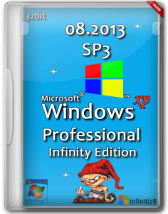 Windows XP Professional Service Pack 3 Infinity Edition (32bit) (2013) Русский
