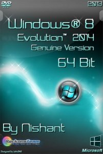 Windows® 8 Evolution™ 2014 Genuine Version By Nishant (x64) [2013] Английский