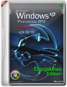 Windows XP Pro SP3 (x86) Elgujakviso Edition (v24.08.13) Русский
