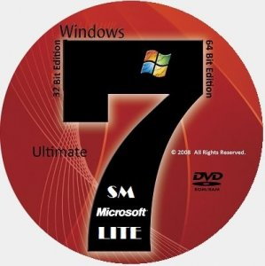 Microsoft Windows 7 Ultimate SP1 x86-x64 RU Lite & SM 4x1 by Lopatkin (2013) Русский