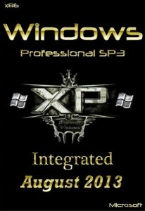 Windows XP Professional SP3 Integrated August (x86) [2013] Русский + Английский