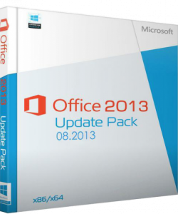 Office 2013 Update Pack 08.2013 (32bit+64bit) (2013) Английский