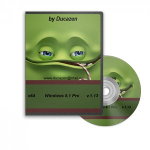 Windows 8.1 Professional (x64) v.1.13 by Ducazen (2013) Русский
