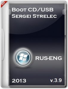 Boot CD/USB Sergei Strelec 2013 v.3.9 (Windows 8 PE) (2013) Русский + Английский
