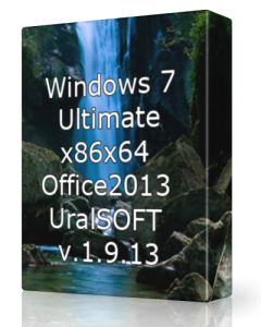 Windows 7 x86x64 Ultimate & Office2013 UralSOFT v.1.9.13 (2013) Русский