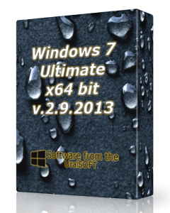 Windows 7 Ultimate UralSOFT v.2.9.13 (x64) (2013) Русский