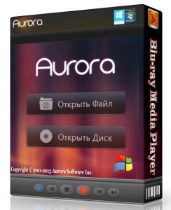 Aurora Blu-ray Media Player 2.12.9.1301 Portable by SamDel (2013) ������� + ����������