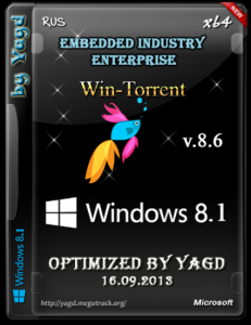 Windows 8.1 Embedded Industry Enterprise (x64) Optimized by Yagd v.8.6 [16.09.2013] Русский