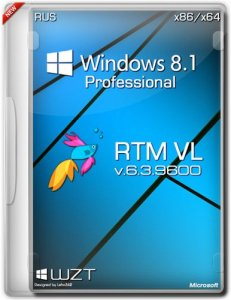 Windows 8.1 Pro VL RTM DVD-WZT (x86-x64) [2013] Русский