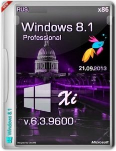 "Microsoft Windows 8.1 Pro 6.3.9600 �86 RU Lite ""Xi"" by Lopatkin (2013) �������"