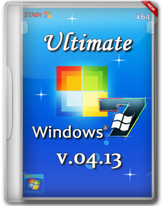 Windows 7 Ultimate v4.13 by STAD1 (x64) (2013) Русский