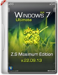 Windows 7 Ultimate SP1 Z.S Maximum Edition TermitBOSS v.22.09.13 (32bit+64bit) (2013) Русский