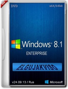 Windows 8.1 Enterprise Elgujakviso Edition v.24.09.13 (x64) (2013) Русский