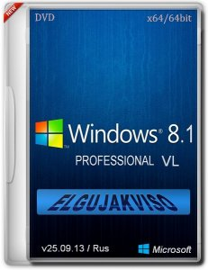 Windows 8.1 Pro Elgujakviso Edition (x64) (v25.09.13) Русский