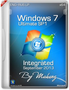 Windows 7 Ultimate SP1 x64 Integrated September 2013 By Maherz (2013) Русский + Английский