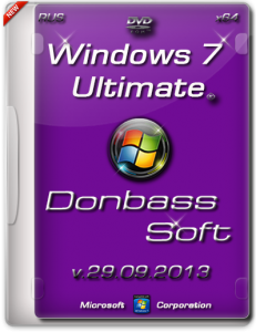 Windows 7 Ultimate SP1 DS v.29.09.13 (x64) [2013] Русский
