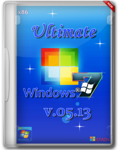 Windows 7 x86 Ultimate v5.13 Update 5.10.2013 by STAD1 (2013) Русский
