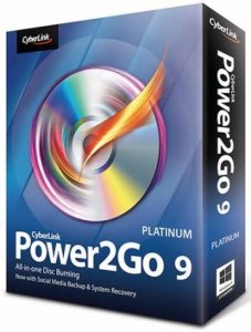 CyberLink Power2Go Platinum 9.0.0809.0 Portable by Baltagy [Multi/Ru]