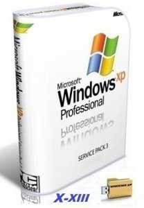 Microsoft Windows XP Professional 32 бит SP3 VL RU SATA AHCI X-XIII by Lopatkin (2013) Русский