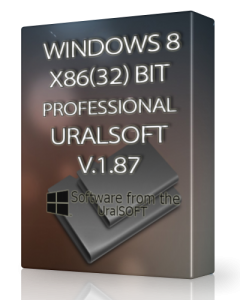Windows 8 x86 Pro UralSOFT v.1.87 (2013) Русский
