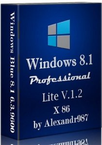 Windows 8.1 Professional 6.3 9600 RU-Lite x86 V.1.2 by Alexandr987 (2013) �������