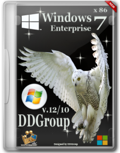Windows 7 SP1 Enterprise x86 [v.12.10] by DDGroup (2013) Русский