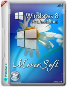 Windows 8 Pro by MoverSoft (x64) [2013] Русский