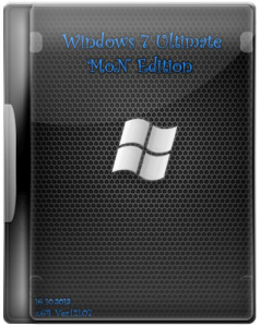 Windows 7 SP1 Ultimate MoN Edition v.2.07 (2013) Русский