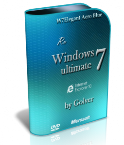 Windows 7 Ultimate SP1 by Golver (х32+х64) (2013) Русский