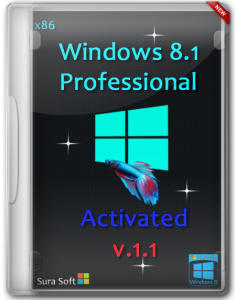 Windows 8.1 Pro SURA SOFT v.1.1 Activated x86 (2013) Русский