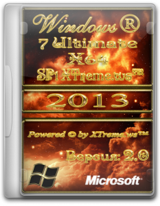 Windows 7 Ultimate SP1 XTreme.ws� v.2.0 (x64) (2013) �������