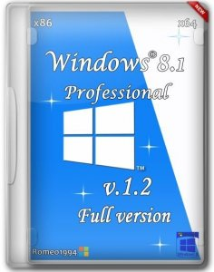 Windows 8.1 Professional (x86/x64) v.1.2 by Romeo1994 (2013) Русский