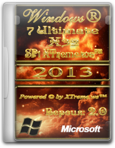 Windows 7 Ultimate SP1 32bit XTreme™ v.2.0 (2013) Русский