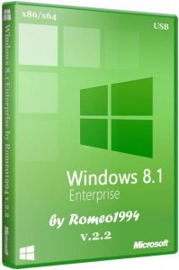 Windows 8.1 Enterprise (x64 + x86) v.2.2 by Romeo1994 (2013) Русский