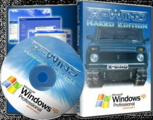 Windows XP Professional SP3 (X-Wind) by YikxX, RUS, VL, x86, AHCI/RAID Adv [Naked Edition 2013] (26.10.2013) [������]