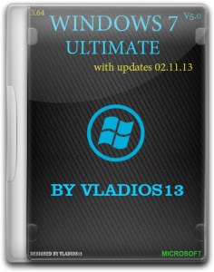 Windows 7 Ultimate SP1 x64 [v5.0] by vladios13 (2013) Русский