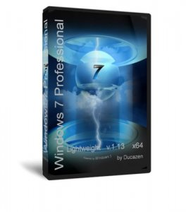 Windows 7 SP1 Professional x64 Lightweight v.1.13 by Ducazen (2013) Русский