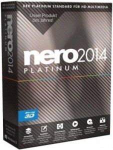 Nero 2014 Platinum 15.0.03400 RePack by KpoJIuK [Multi/Ru]