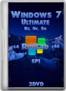Windows 7 Ultimate SP1 x64-x86 IE10 by RudLab v.3 (2013) (En, Ru, Ua)
